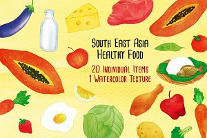 South East Asia Healthy Food