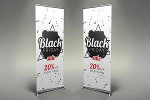 Black Friday - Roll Up Banner