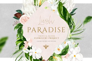 Lush Paradise - Floristry Project