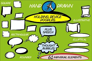 Holding Devices & Speech Bubbles