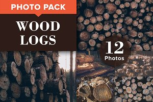 WOOD LOGS (12 Premium Photos)