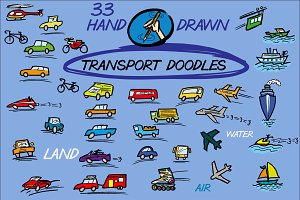 Transport Doodles