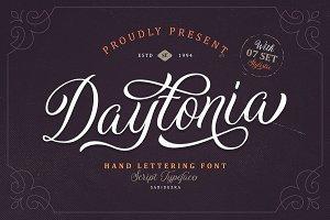 Daytonia - Hand Lettering Script