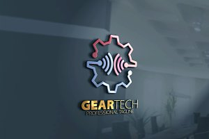 Gear Tech and Wifi Logo