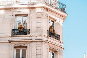 View on a facade