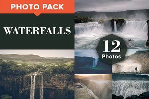 WATERFALLS (12 Premium Photos)