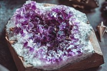 Amethyst Druze on a witch's altar by  in Arts & Entertainment