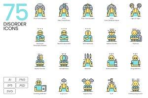 75 Disorder Icons | Aqua
