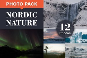 NORDIC NATURE (12 Premium Photos)