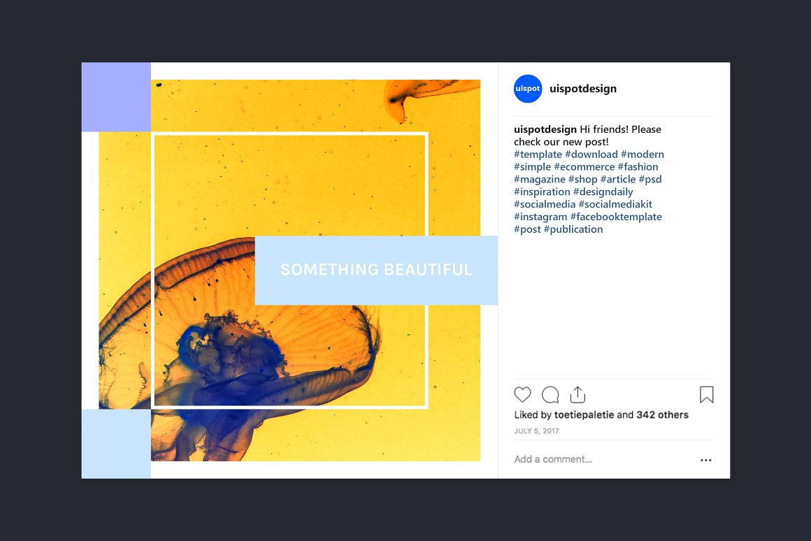 . Modern Social Media Kit  Vol  4