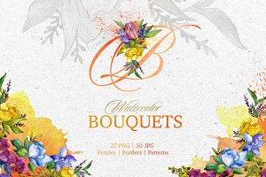 Magic bouquet Watercolor png