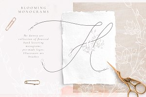 Tender Feeling ~ Monograms/Logos
