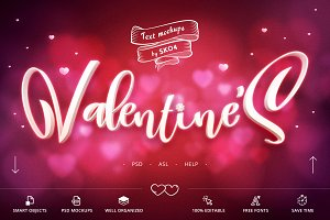 Valentine Text Effects