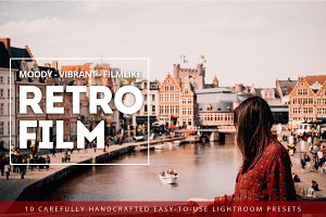 Retro Film Lightroom Preset Bundle
