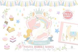 All New!! Mega Pastel Bundle Series
