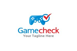 Game Check Logo Template