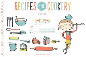 Cookery (Clipart)