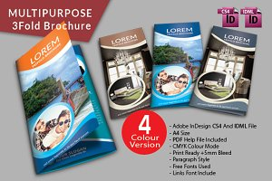Trifold Brochure (Multipurpose)