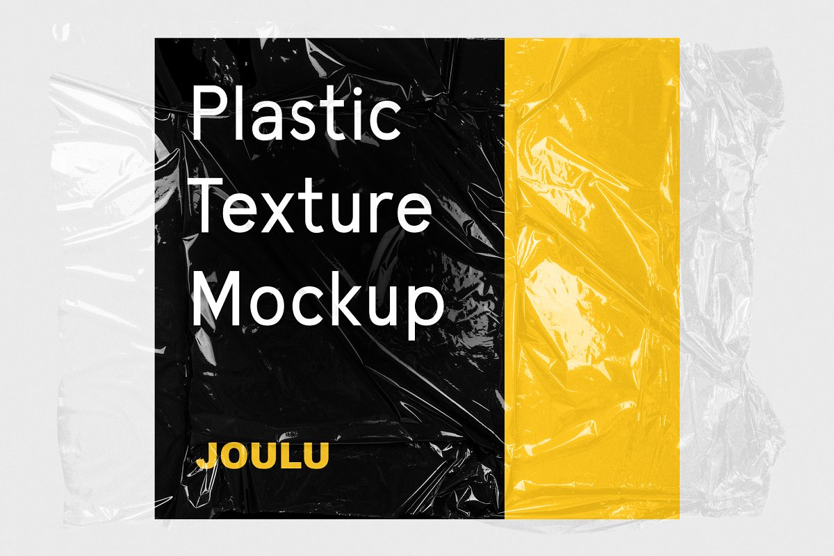 JOULU - Plastic Wrinkle Mockup in Product Mockups - product preview 8