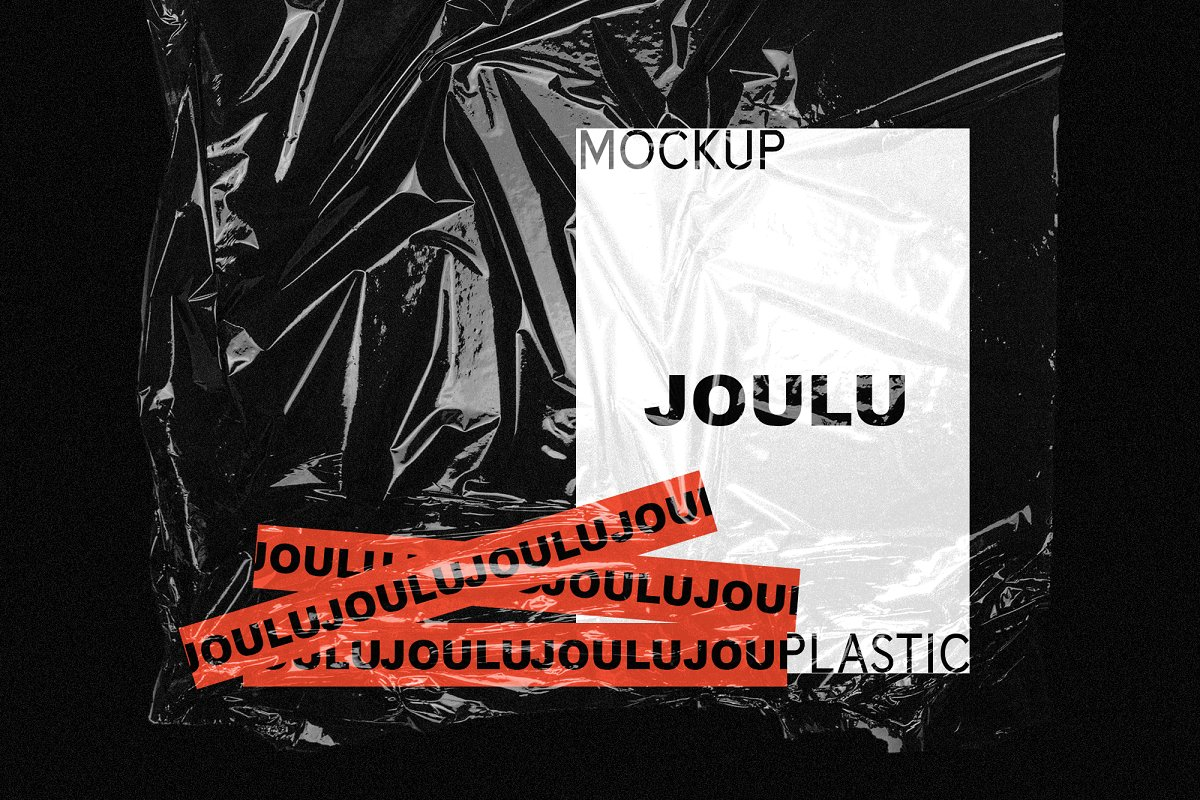 JOULU - Plastic Wrinkle Mockup  in Product Mockups - product preview 3