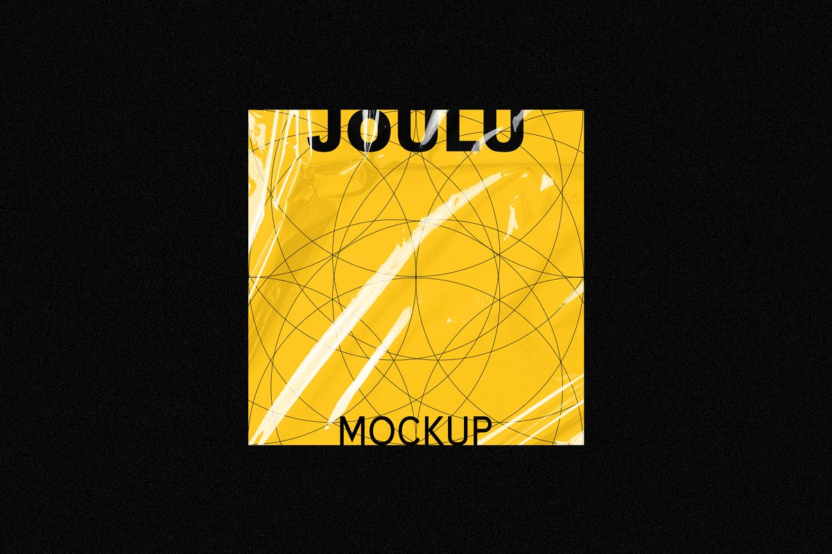JOULU - Plastic Wrinkle Mockup  in Product Mockups - product preview 5