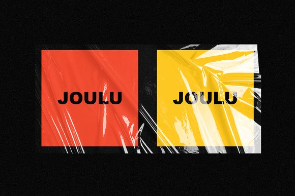 JOULU - Plastic Wrinkle Mockup in Product Mockups - product preview 9