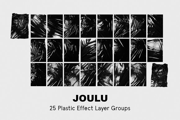 JOULU - Plastic Wrinkle Mockup in Product Mockups - product preview 13