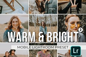 Warm and Bright Mobile Presets