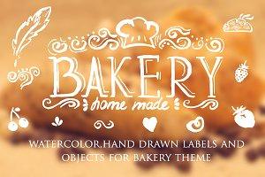 bakery logo labels