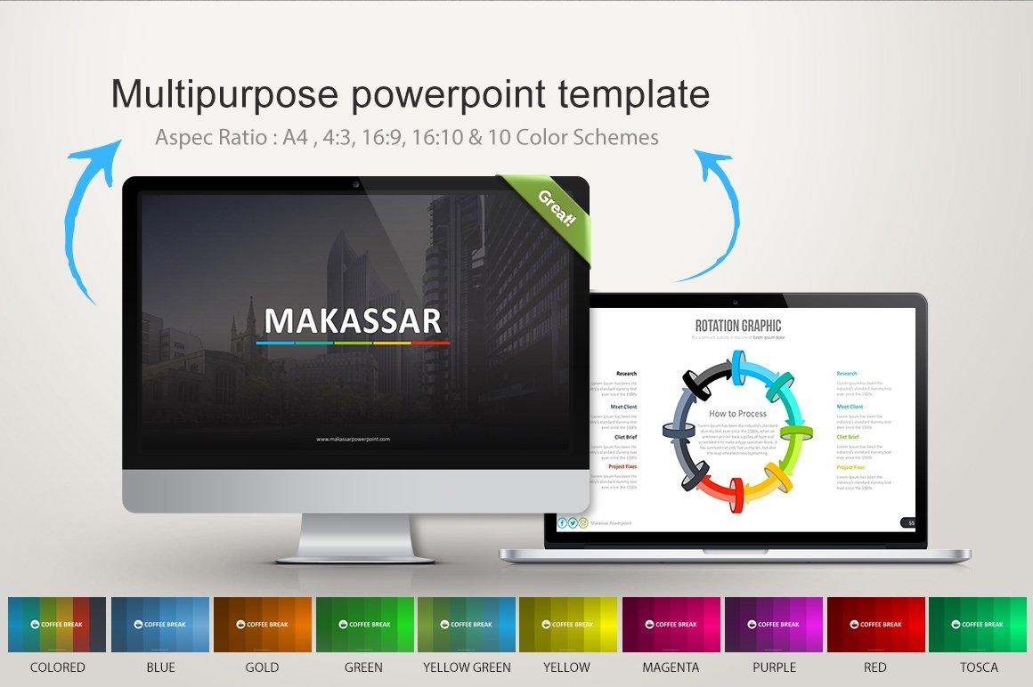 Makassar powerpoint presentation templates creative market toneelgroepblik Choice Image