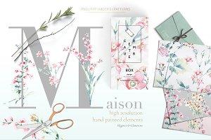 Maison, Subtle & Elegant Pattern!