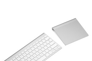 Keyboard with touchpad