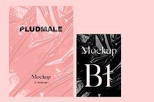 Pludmale - Plastic Texture Mockup