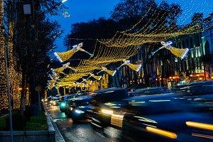 Illuminated Christmas Tbilisi