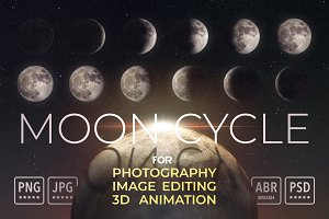 Moon Cycle for Image Editing