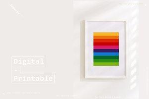 3 Printable Prints Colors Bundle !