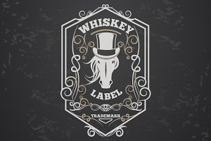 Whiskey lable