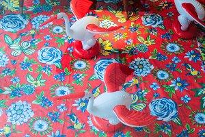 Vintage Colourful Cloths