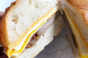 Sausage, Egg, and Cheese