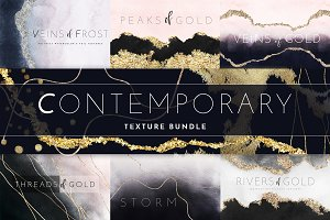 Trendy Watercolor Texture Bundle