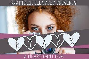 Kiary - A Handwritten Heart Font Duo