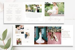 Wedding Photography 5x5 Brochure