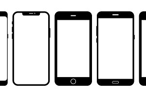 Mobile Vector Mockups