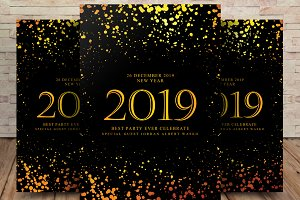 New Year 2019 Flyer
