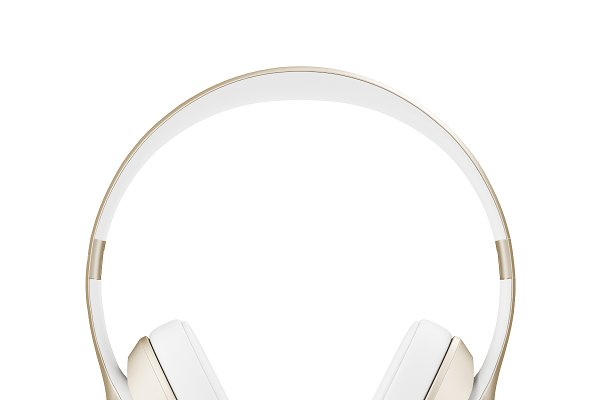 3D Electronics: CGAxis - Golden headphones