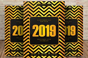 2019 Celebration Party Flyer