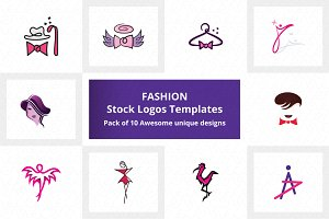 Fashion Stock Logo Templates Pack