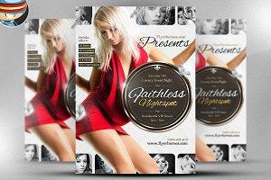 Faithless Nightspot Flyer Template