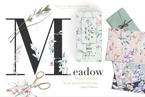 Meadow, Watercolor Prints & More!