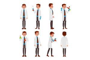 Professional Scientist Vector